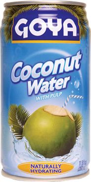 GOYA® Coconut Water.  -Veryify all labels.