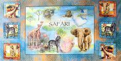 SPX Fabrics 'African Safari'
