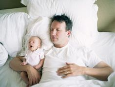 How Co-Sleeping with an Infant Might Make You a Better Dad: Scientific American