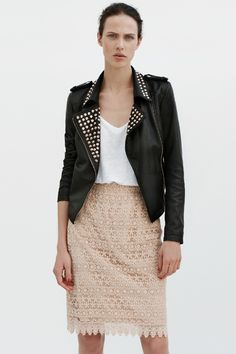 Zara new lookbook, love the jacket and the skirt!