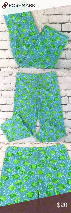 "Vintage Lilly Pulitzer Cropped Pants Vintage ""The Lilly"" Sportwear Division Lilly Pulitzer high waist cropped pants in EUC. Measurements are in the photos. Lilly Pulitzer Pants Ankle & Cropped"
