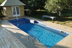 18 x 36 Rectangle Swimming Pool Kit with 42 Steel Walls