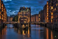 WASSERSCHLOSS - HAMBURG by Hans-Jürgen Malchow: Fine Art Photography http://alldayphotography.com