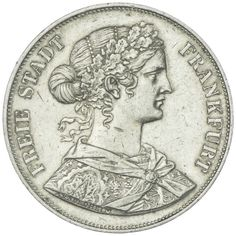 2 Taler 1861 Deutschland bis 1871 Frankfurt
