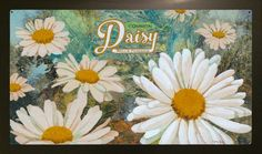 Daisy Collage Painting by Jenny Goring White Background Bellis Perennis, Daisy, My Arts, Collage, Art Prints, Plants, Painting, Inspiration, Design