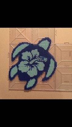 Turtle perler beads by Lindsey L