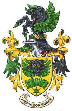 Flying Bull Coat of Arms Marco Foppoli, Heraldic Artist... http://www.marcofoppoli.com/index.php?p=illustrazioni_araldiche