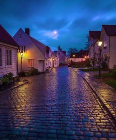 Stavanger, Street Lamp, Love At First Sight, Norway, Beautiful Places, Wildlife, Earth, Mansions, House Styles
