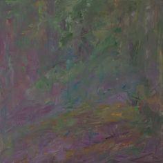 Heinrich Ilmari Rautio: Metsä - Forest, 80x80 cm, oil on canvas, 2017