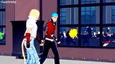Jaune comes flying out of nowhere and smacks into a window? Sun and Neptune don't care.