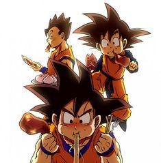 Goku And His Children