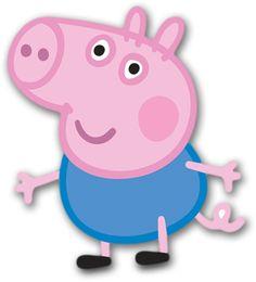 Preparando sua Festa: Festa Peppa Pig Peppa Pig is usually a English preschool super-hero television Cumple George Pig, George Pig Cake, George Pig Party, Bolo Da Peppa Pig, Peppa Pig Cookie, Cumple Peppa Pig, Party Printables, Peppa Pig Printables, Peppa Big
