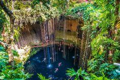 Cenote, Yucatan, Cancun, Mexico
