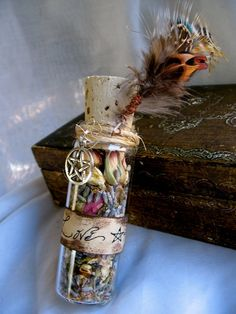 Love this, gonna use my vanilla bean glass tubes and some old wine corks to make one.
