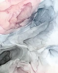 Alcohol Ink Wall Art - Painting - Pastel Blush, Grey And Blue by Elizabeth Karlson Alcohol Ink Crafts, Alcohol Ink Painting, Alcohol Ink Art, Iphone Background Wallpaper, Aesthetic Iphone Wallpaper, Blue Grey Wallpaper, Pastel Iphone Wallpaper, Blue Poster, Pretty Wallpapers