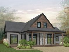 Country House Plan, 027H-0476