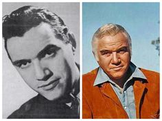 """Loren Greene-Canadian Air (Actor) Played Ben Cartwright on """"Bonanza. Famous Men, Famous Faces, Famous People, Hollywood Stars, Classic Hollywood, Old Hollywood, Famous Veterans, Herbert Lom, Celebrities Then And Now"""
