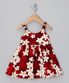 Red Plumeria Dress - Infant & Toddler | Daily deals for moms, babies and kids