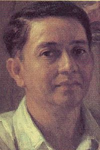 """Fernando Amorsolo, Born May 1892 Paco, Manila, Spanish East Indies (now Philippines) Died April 1972 (aged Manila, Philippines """"The Grand Old Man of Philippine Art"""" Filipino Art, Filipino Culture, Most Popular Artists, Famous Artists, Philippines People, Manila Philippines, Philippine Art, Spanish Culture, East Indies"""