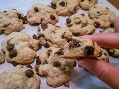 Grandma's From-Scratch, easy Chocolate Chip Cookies: Sometimes you just need the simple classics.