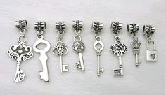 Hey, I found this really awesome Etsy listing at https://www.etsy.com/listing/231275942/48pcs-mix-key-tibetan-silver-bead-charm