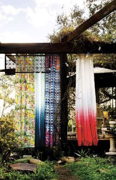 dreamy outdoor curtains