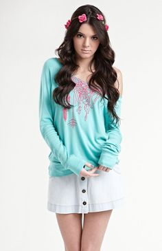 want it!!! PACSUN Kendall & Kylie  Long Sleeve Fleece