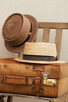 夏の思い出と共に、味わい深まる麦わら帽子