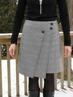 Christmas skirt by Renee63, via Flickr