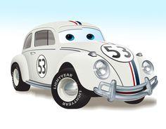 Herbie #OldRedJalopy