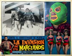 El Santo movie posters