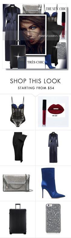 """Paris Fashion Week '18!"" by bella-danielle-mia ❤ liked on Polyvore featuring La Perla, Maticevski, Galvan, STELLA McCARTNEY, Gianvito Rossi, Rimowa, Flight 001, StellaMcCartney, LaPerla and GianvitoRossi"
