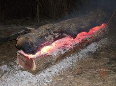 All night fire.