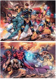 X-Men vs. The Brotherhood of Mutants Marvel Xmen, Marvel Comic Universe, Marvel Comics Art, Comics Universe, Marvel Heroes, Uncanny Avengers, Marvel Comic Character, Marvel Characters, Comic Books Art