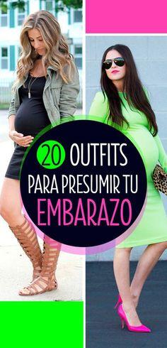992b13420 20 Lindos outfits que te harán lucir hermosa y presumir tu pancita de  embarazada