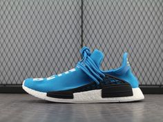 b7ccd99f1 Adidas NMD Pharrell Williams Human Race Blue BB0618 Cool Adidas Shoes