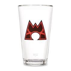 Team Magma Glass Tumbler