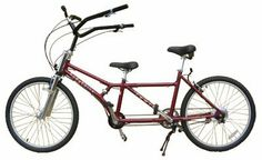"""Buddy Bike Family 8 Speed by Buddy Bike. $1883.00. Buddy Bike Family BB102-AL-8 is designed to encourage novices and non-riders to cycle. This bike model includes an aluminum frame in metallic burgundy, bi-pod kickstand for stability and a 8-speed Shimano Nexus internal hub for easy maintenance and pedal-free shifting. It varies from prior bike models with lower top tubes for easier bike mounting and a lower rear rider seat. Adult riders under 5'7"""" may be more comfortable with..."""