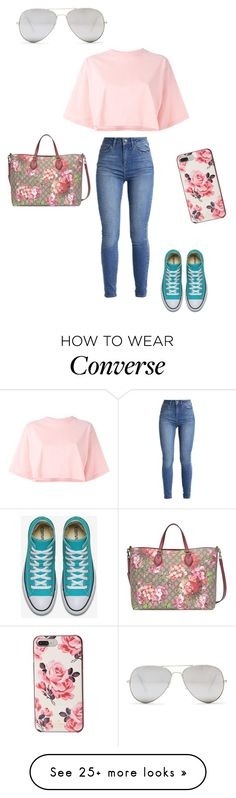 """Untitled #650"" by martinmel-mlm on Polyvore featuring Puma, Gucci, Kate Spade and Sunny Rebel"