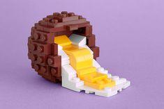Somehow this LEGO Cadbury Creme Egg looks delicious.
