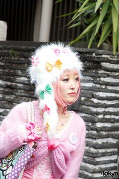 Kuma Miki on Harajuku Fashion Walk