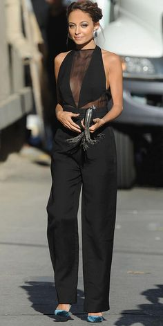 I love the updo hair with this outfit..it doesn't take the attention away from where it should be