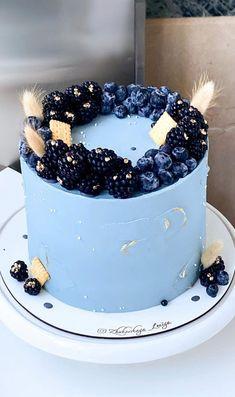 Birthday Cake For Son, Fancy Birthday Cakes, Birthday Drip Cake, Bithday Cake, Homemade Birthday Cakes, Beautiful Birthday Cakes, Birthday Cakes For Women, Funny Birthday, Pretty Cakes