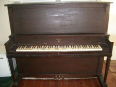 Next project - restoring a 1920s upright piano