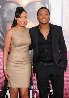 Cymphonique Miller and Romeo Miller attend the 'Tyler Perry's Madea's Witness Protection' New York Premiere at AMC Lincoln Square Theater on June 25, 2012 in New York City.