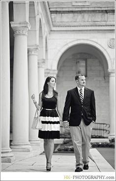 City Chic Engagement Photos in Boston