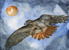 Redtail Gone - Limited Edition Print