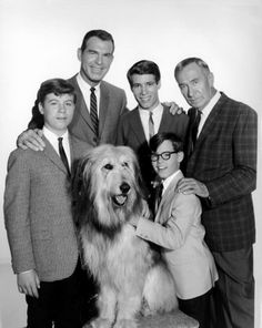 Fred MacMurray photo of My Three Sons TV show