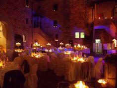 Candle light wedding... by castelloilpalagio.eu