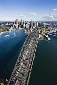 Fotografia Sydney Harbour Bridge, Australia. de Ron Chapple na 500px